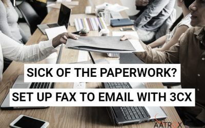 Setting Up Fax for 3CX