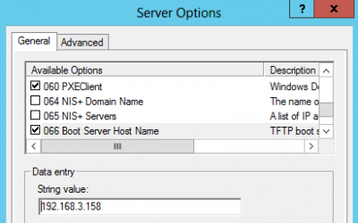 """Provisioning with DHCP """"Option 66"""""""