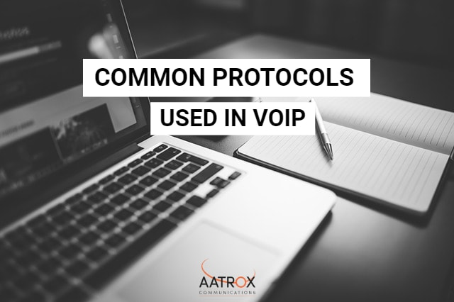 Protocols used in VoIP